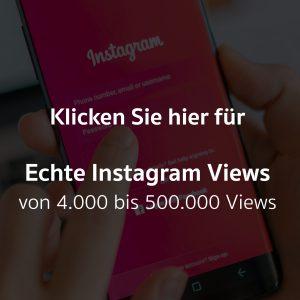 Echte Instagram Views