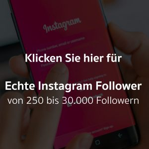 Echte Instagram Follower