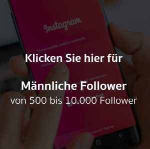 Männliche Follower
